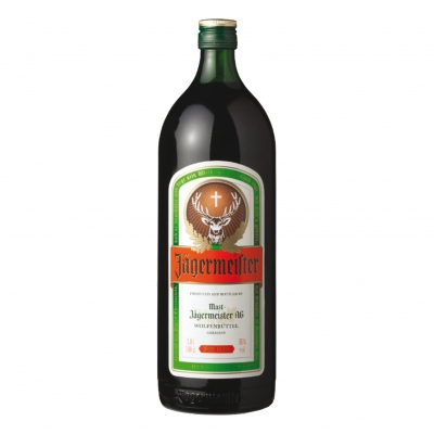 Jagermeister rond 100 cl